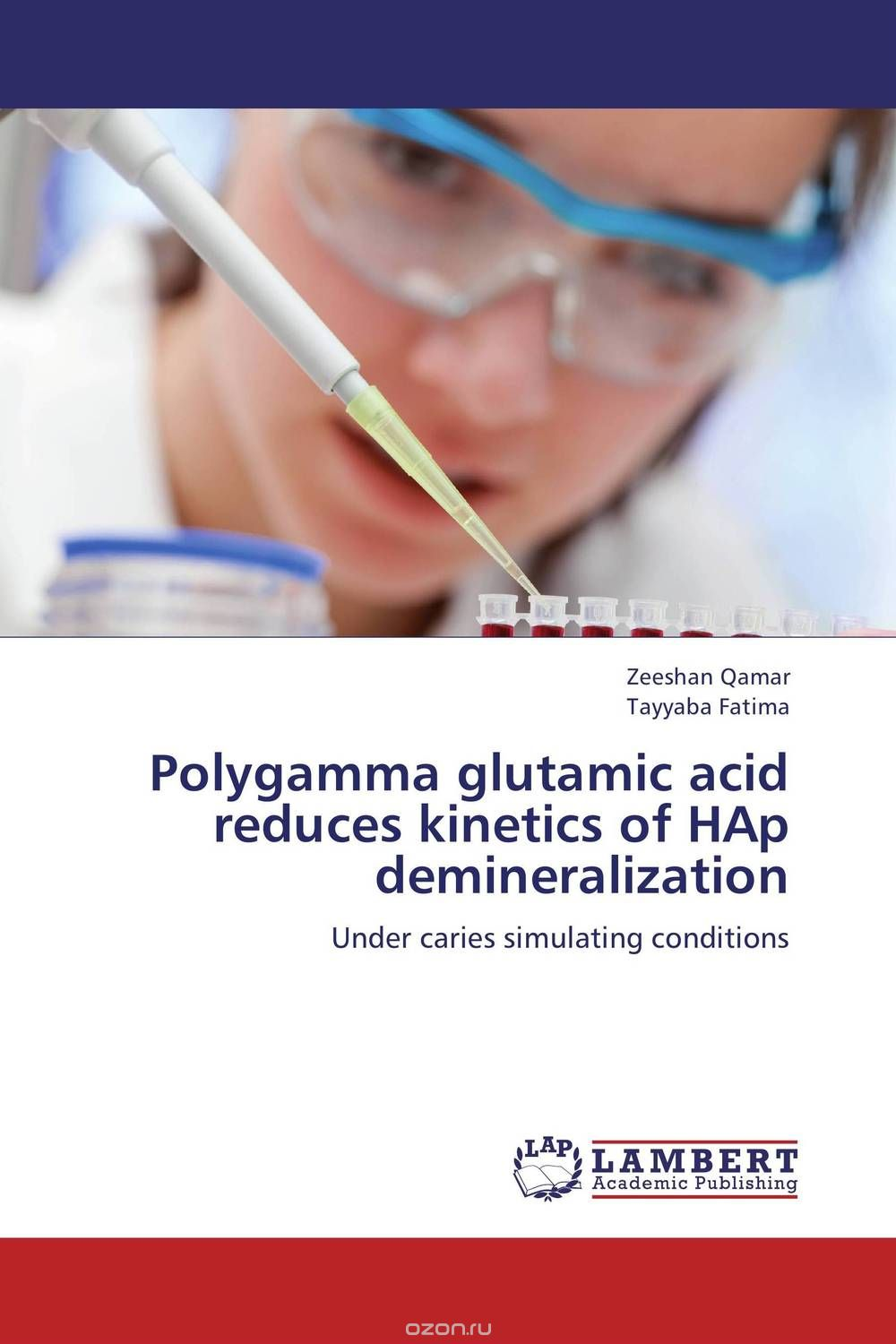 Polygamma glutamic acid reduces kinetics of HAp demineralization