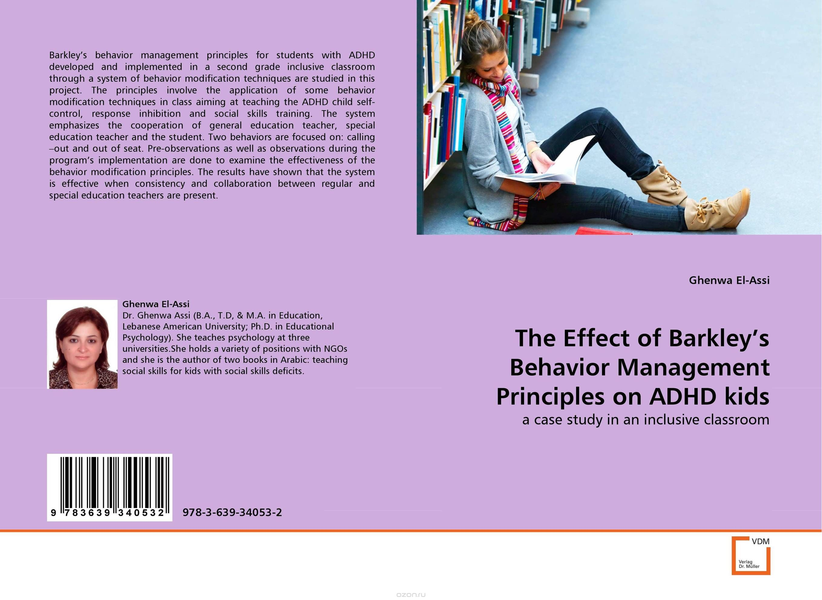 "Скачать книгу ""The Effect of Barkley''s Behavior Management Principles on ADHD kids"""