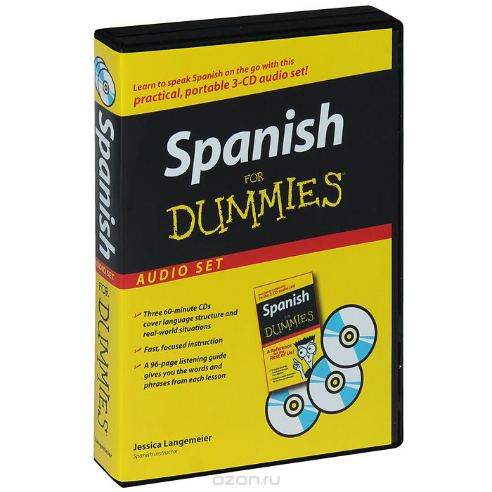 "Скачать книгу ""Spanish for Dummies: Audio Set (+ аудиокурс на 3 CD)"""