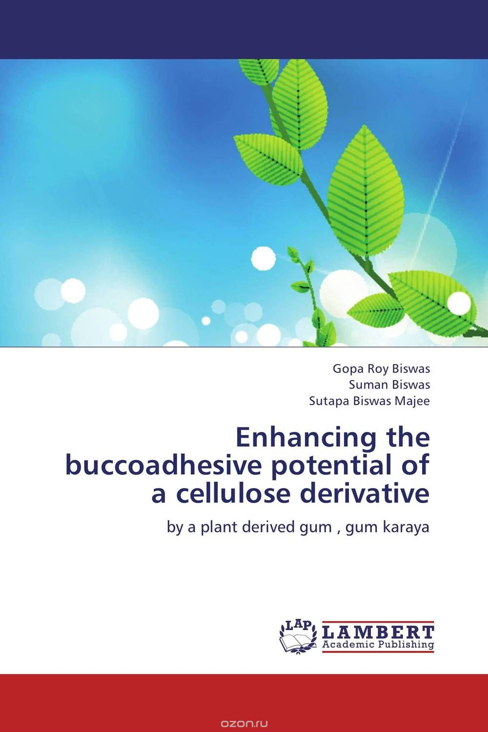 Enhancing the buccoadhesive potential of a cellulose derivative